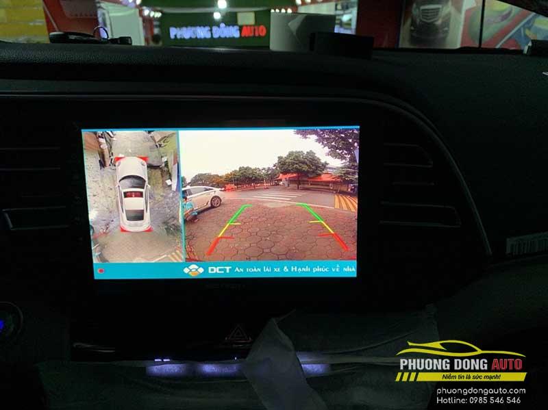 cam 360 trenman hinh gotech cho cam ry tại phuong dong auto
