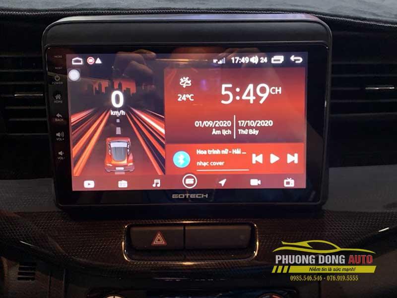 Lắp màn Androi và Cam 360 DCT cho Suzuki XL7