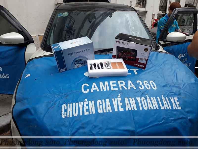 Cam 360 dct trên xe suzuki swift