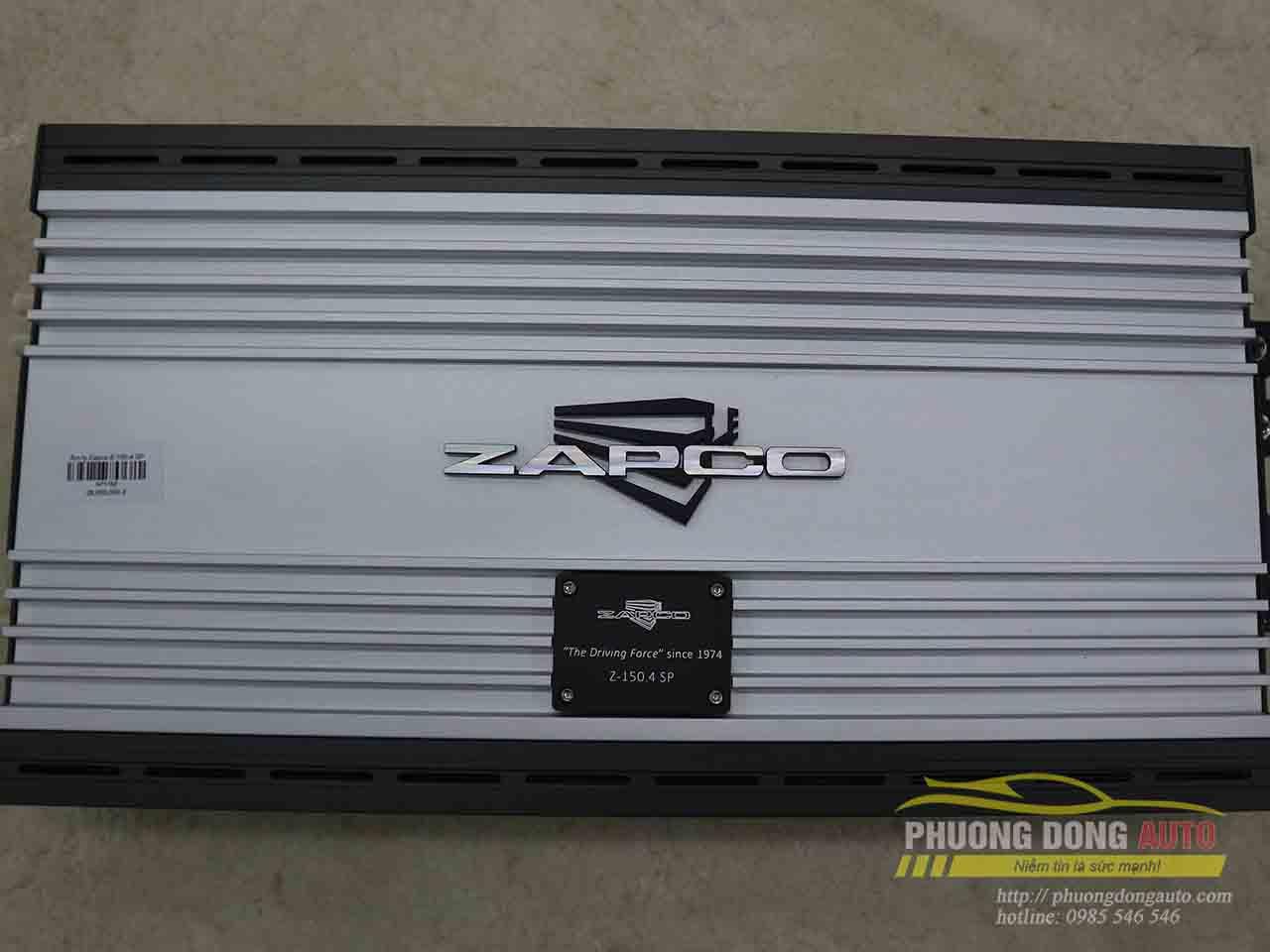 Amply Zapco Z-150.4SP 4 kênh | Trải nghiệm cùng Sơn Black