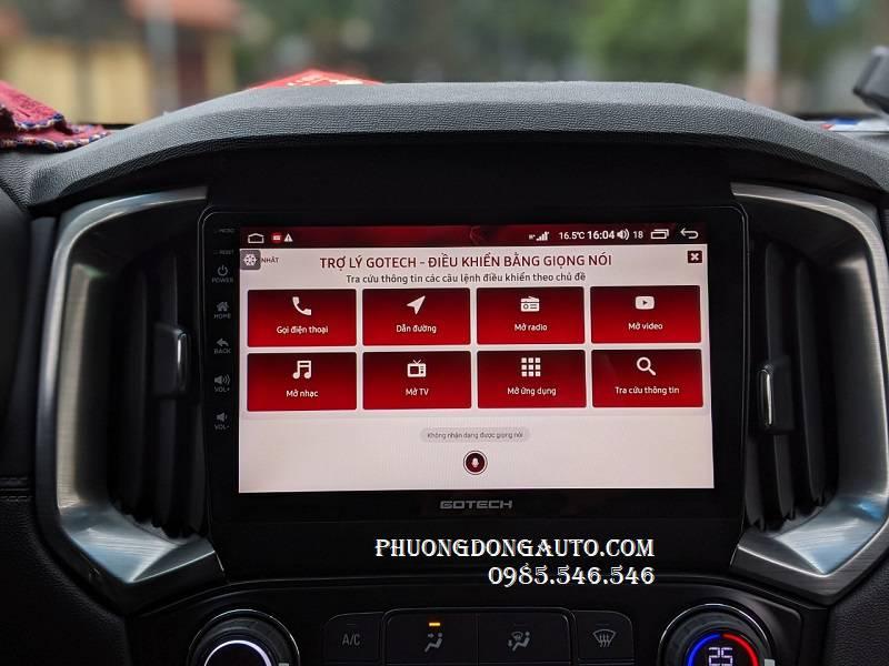 Màn hình Android Chevrolet Trailblazer