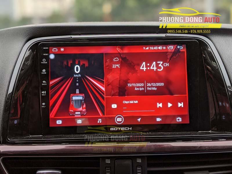 Màn hình android Mazda 6