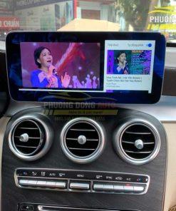 Màn hình Android cho Mercedes GLC300