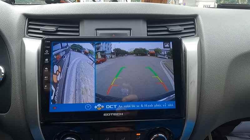 màn hình Android Gotech Nissan Navara