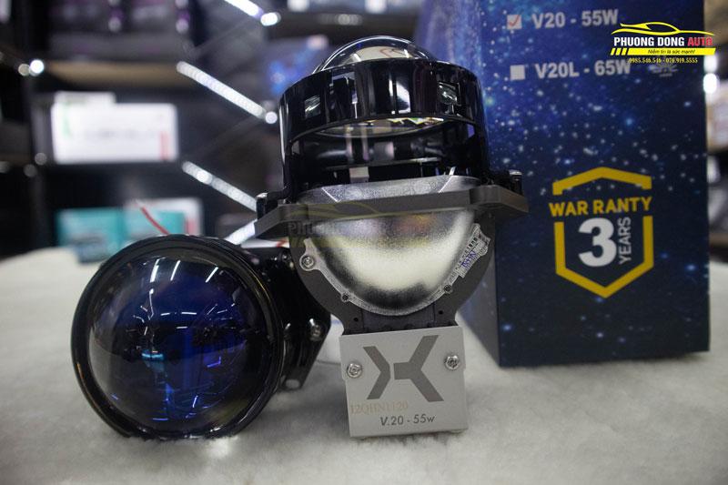 Đèn Bi Led X-Light V20 | Tăng sáng tối ưu