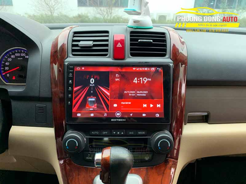 Màn hình Android Honda CVR 2008 chính hãng