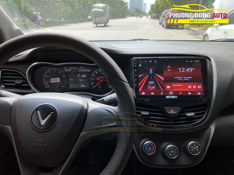 Màn hình Android Gotech Vinfast Fadil chính hãng
