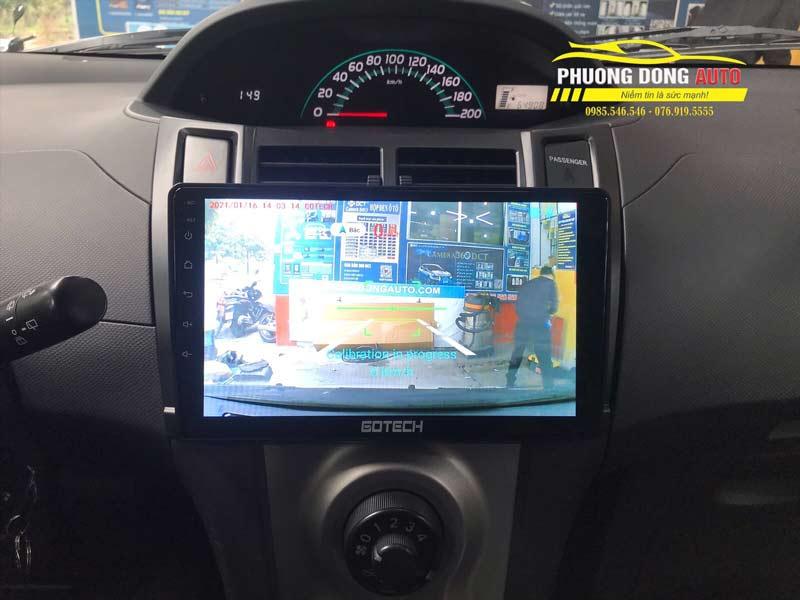 Màn hình Android Toyota Yaris
