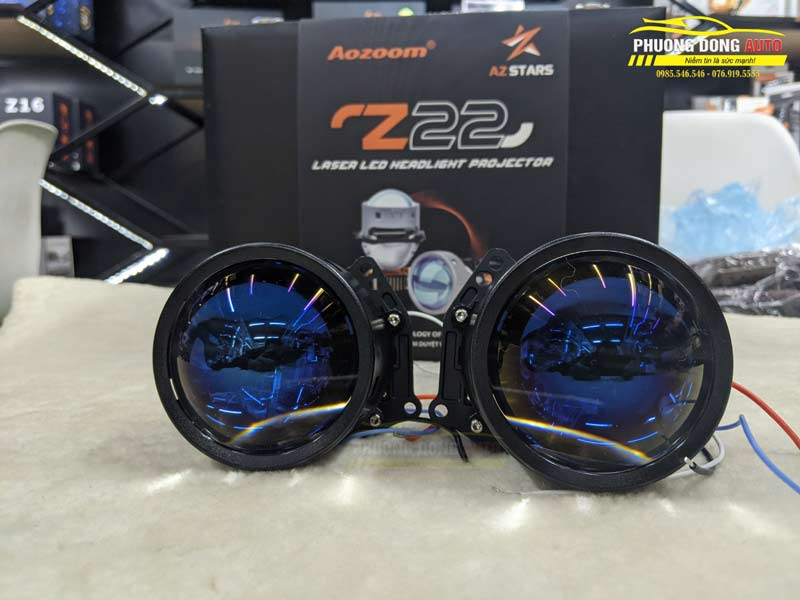 Bi Lazer AZ Stars Z22 | Đi đầu công nghệ chiếu sáng