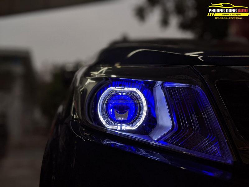 Độ đèn Navara | Xlight V20 + Xlight F10 siêu sáng