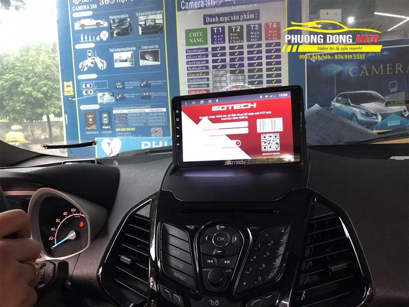 Màn hình Android Gotech cho Ford Ecosport