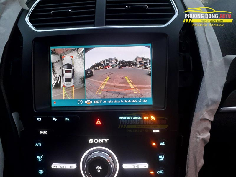 Camera 360 DCT Ford Explorer | Số 1 camera 360