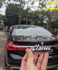 Dán phim cách nhiệt Classis cho BMW