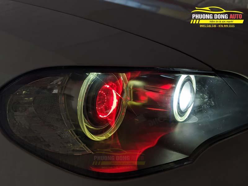 Độ đèn BMW X5 siêu sáng với Xlight V30 ultra