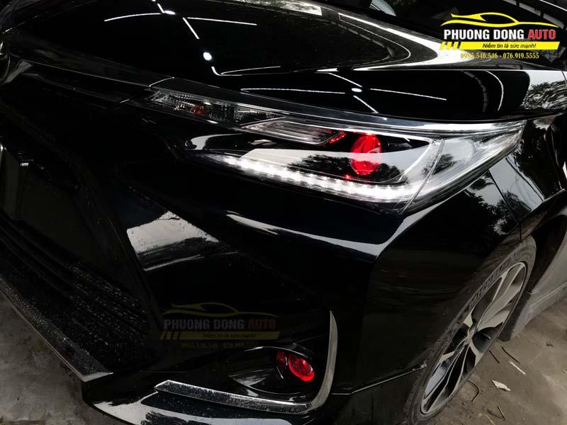 Độ đèn Toyota Corolla Altis | Xlight V20 & Xlight F10