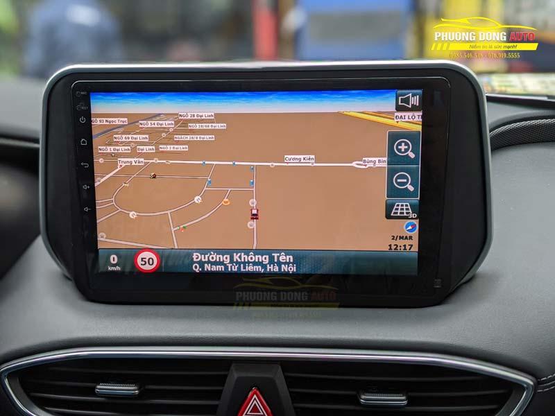 Màn hình Android Teyes CC3 cho Santafe 2020