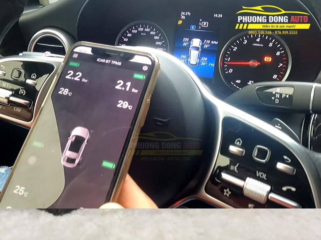 Cảm biến áp suất lốp Mercedes | TPMSi3 Gold Edition