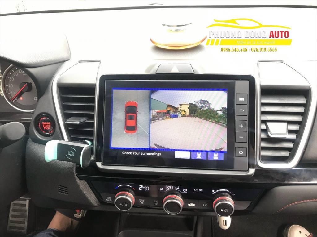 Camera 360 Honda City chính hãng DCT