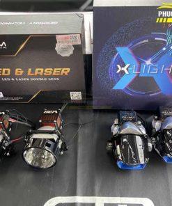 Độ đèn Vinfast Lux A 2.0