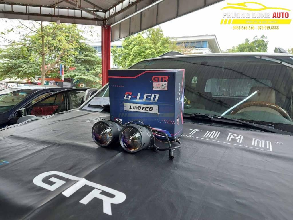 Độ đèn Fortuner GLed Limited chính hãng GTR