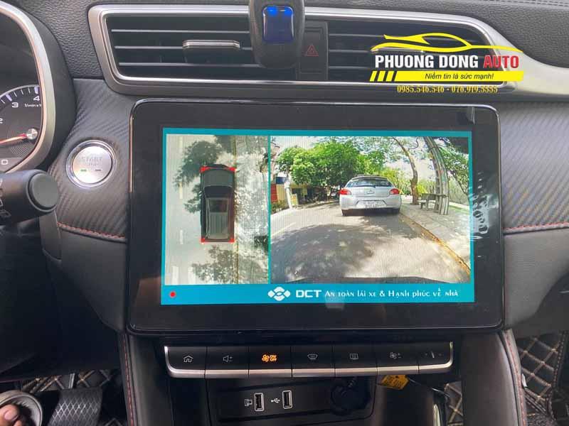 Camera 360 độ cho MG ZS | Hỗ Trợ Lái Xe An Toàn