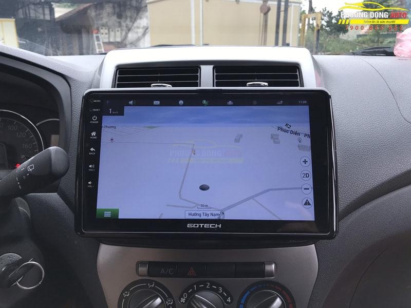 Màn hình Android cho xe Toyota Wigo Chính Hãng