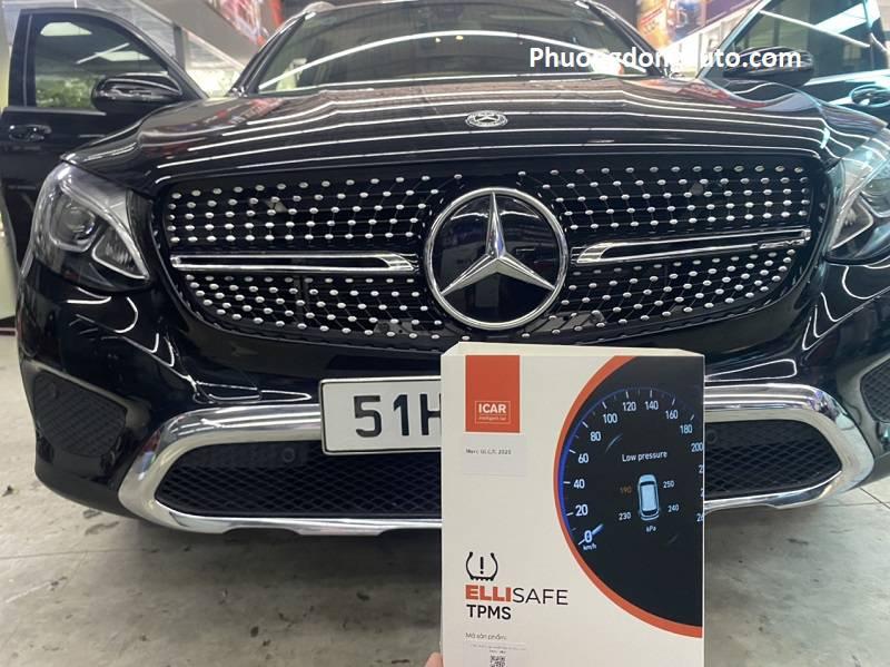 Cảm biến áp suất lốp theo xe Mercedes GLC200 | TPMS GLC200
