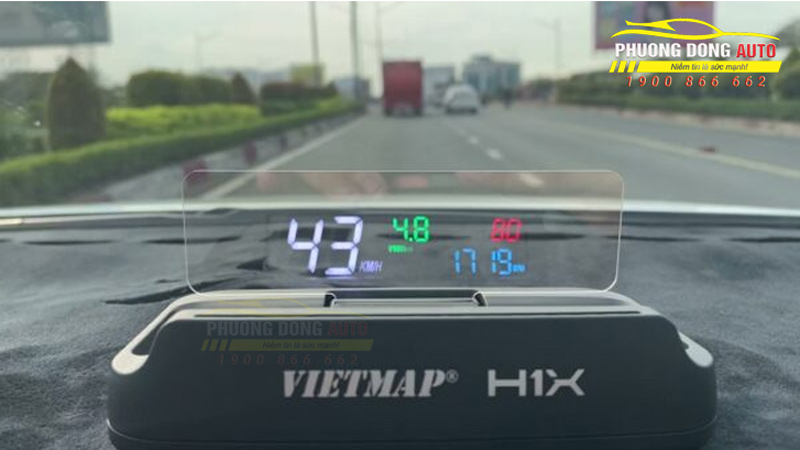 Màn hình hiển thị thông tin thông minh VIETMAP HUD H1X