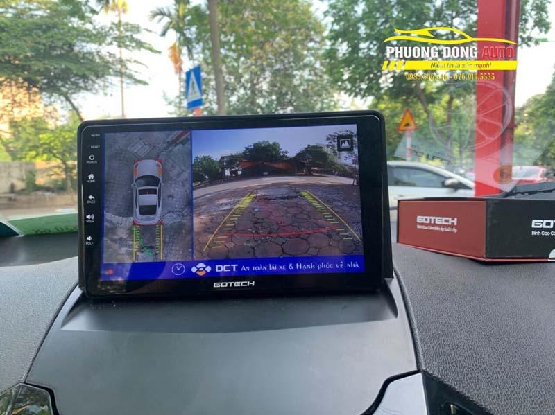 Camera 360 độ Ford Ecosport chính hãng DCT