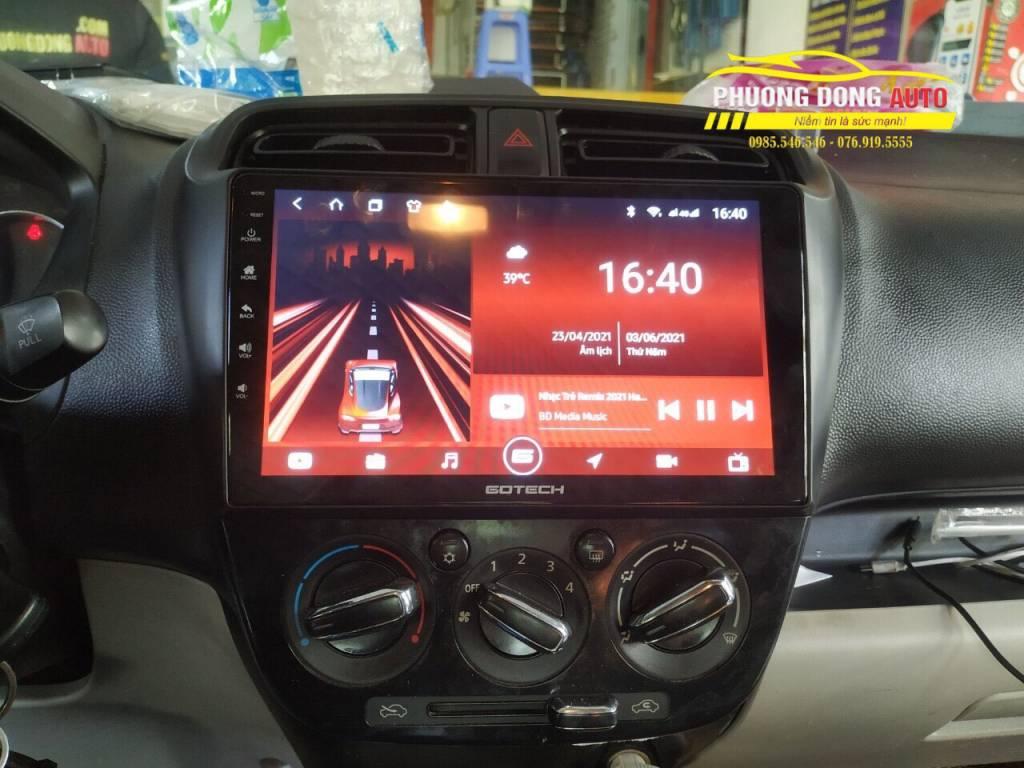 Màn hình DVD Android cho xe Mitsubishi Attrage