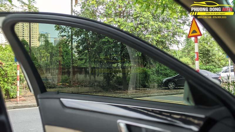Dán phim cách nhiệt Mercedes C250 chính hãng