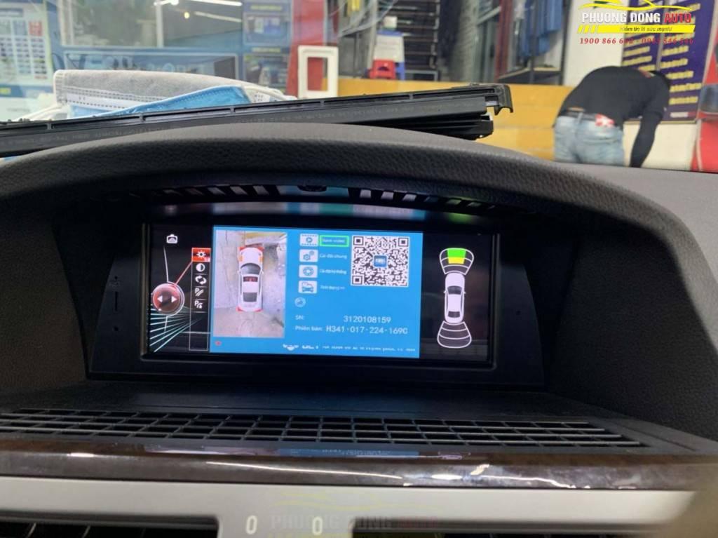 Camera 360 độ BMW 750i Chính Hãng DCT