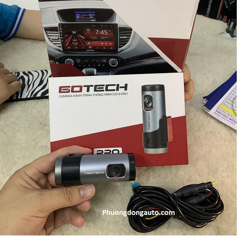 Camera hành trình Gotech GD6 | Xem trên điện thoại