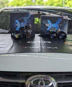 Độ đèn Toyota Fortuner Với X-Light V30 Ultra