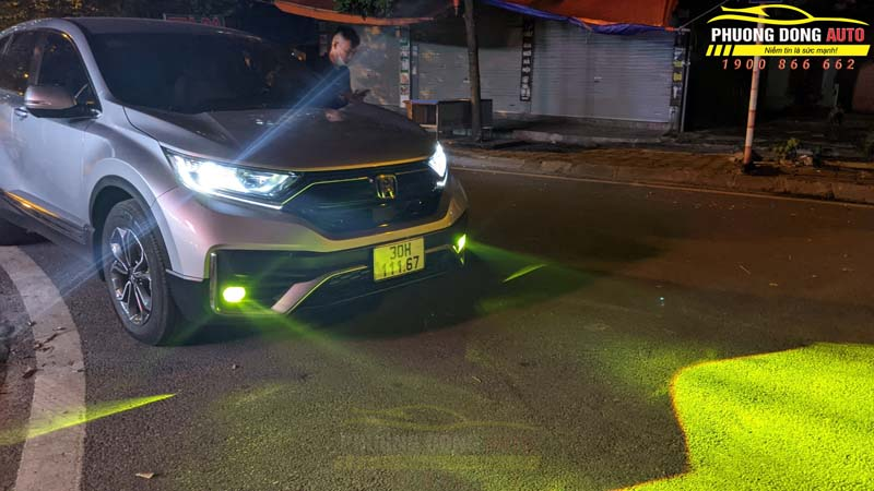 Độ Laser Titan Platinum cho Nissan Infiniti