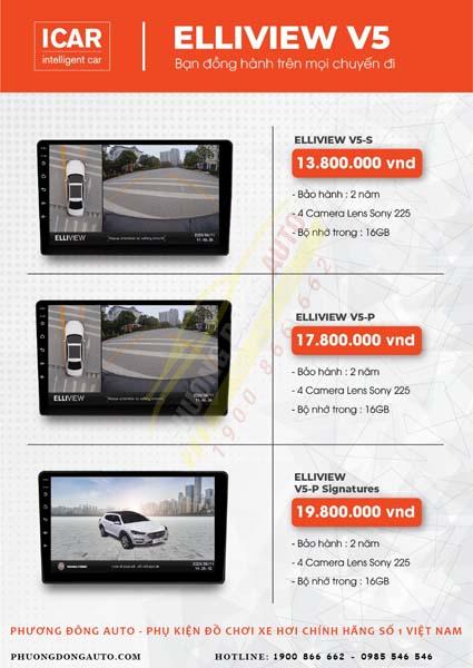 Bảng báo giá camera 360 độ Eliview V5