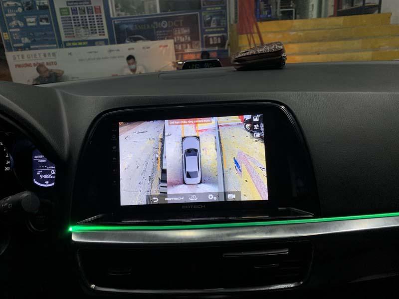 Màn hình liền camera 360 Mazda Cx5 – Đỉnh cao công nghệ