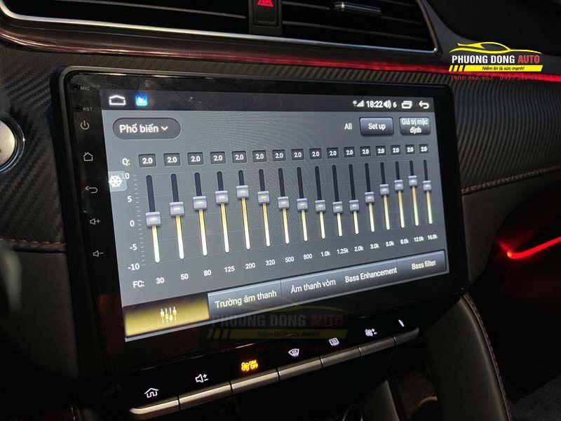 Màn Hình Android MG ZS chính hãng Elivew U4