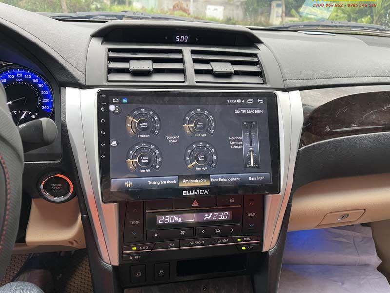 Màn hình Android Liền Camera 360 độ Toyota Camry