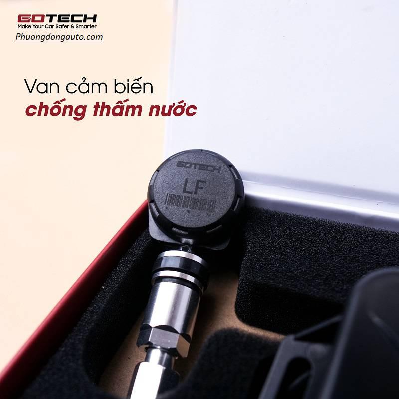 Cảm biến áp suất lốp Gotech | TPMS Gotech