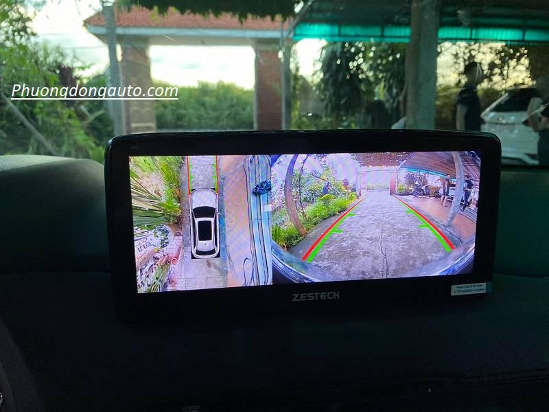 Màn hình liền camera 360 Zestech | Giá bao nhiêu