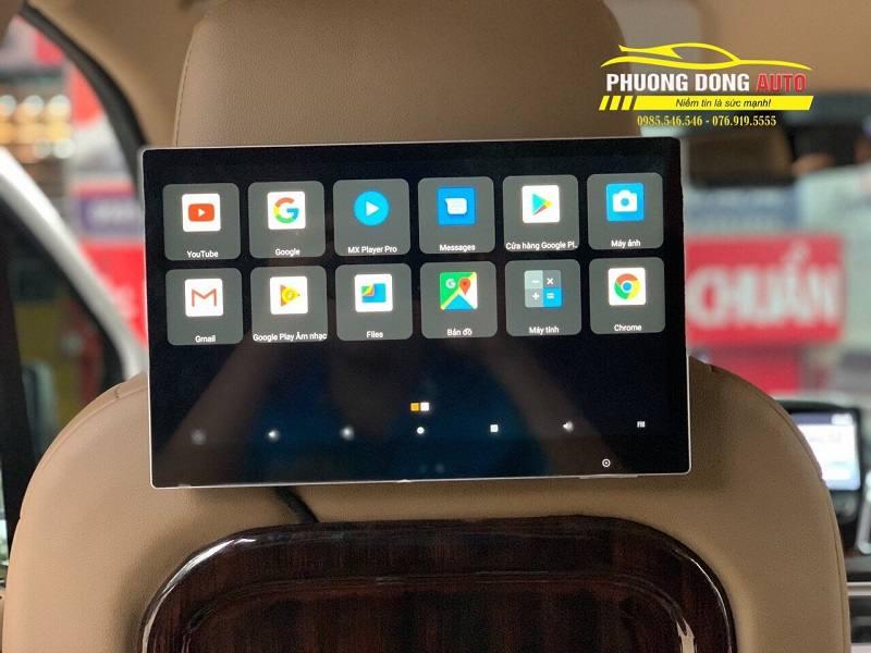 Màn hình gối Android ô tô | Cogamichi C99 12,5′