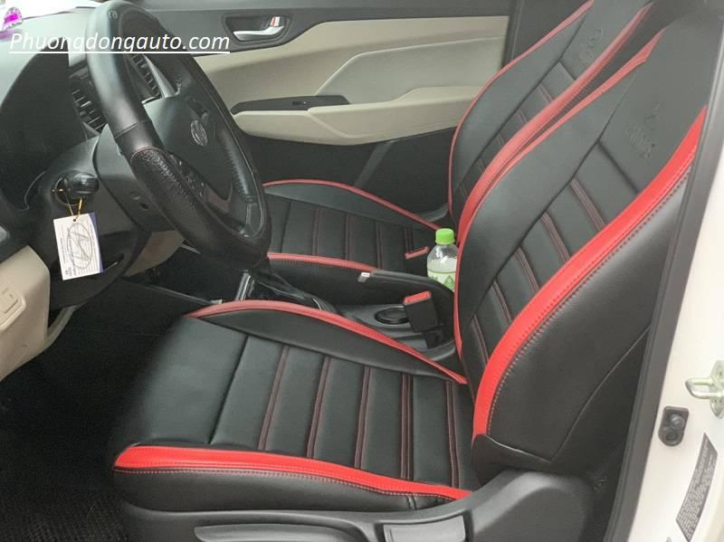Bọc ghế da Hyundai Accent | Tổng hợp mẫu bọc siêu đẹp
