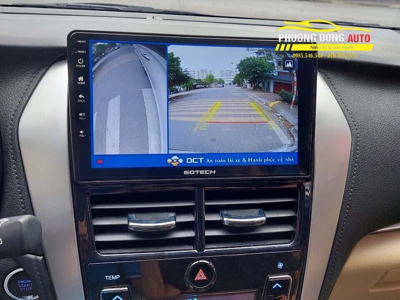 Camera 360 độ Toyota Yaris Chính Hãng DCT