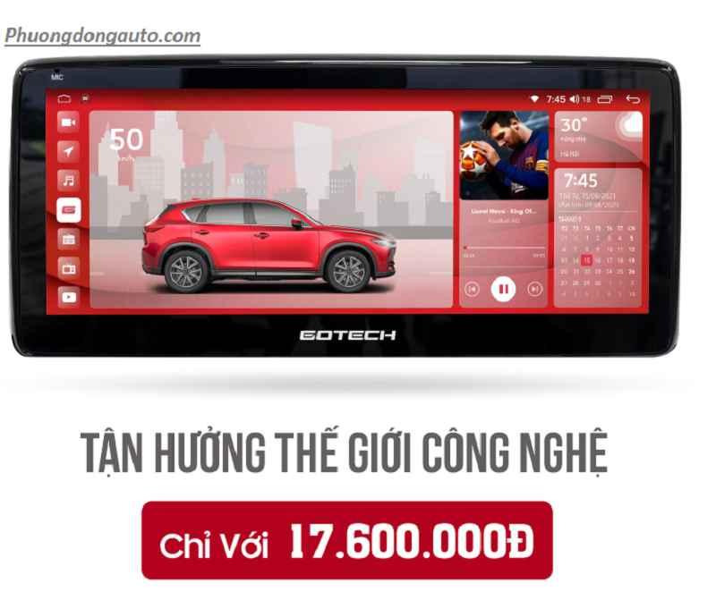 Màn hinh Android Gotech GT Mazda Pro